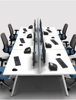 PLUS bench of 6 desks