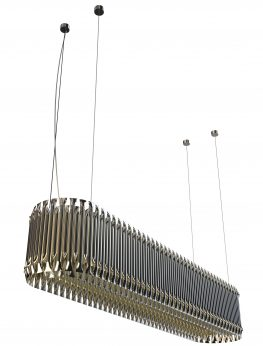 Matheny Rectangular Suspension Lamp
