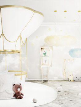 Fantasy Air Balloon Children's Bed