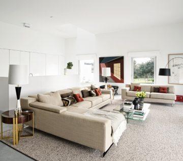 Weekend House Vineyard Villa's Living Room