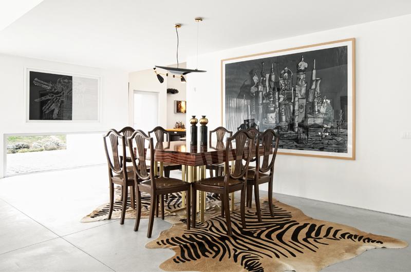 Vineyard Villa's Dining Room